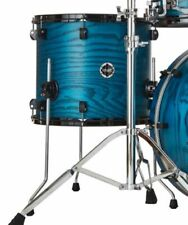 "Crush Drums Chameleon Ash 18"" Floor Tom/Trans Satin Blue/Finish #205/NEW"