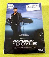 Republic of Doyle: Season 2 ~ New DVD 3-Disc Set ~ Detective TV Show Series