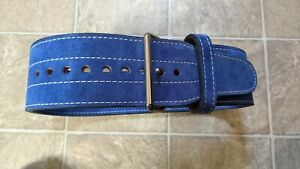 "Powerlifting belt 10mm 4""x 48"" Medium"
