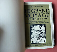 Le Grand Voyage 1930 SHERRIFF Edition Originale n°61 STERNBERG