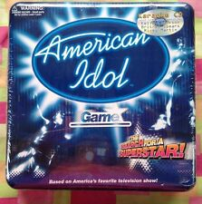 American Idol Game*The Search For A SuperStar*2003*NEW in tin & cellophane wrap