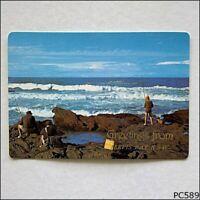 Jervis Bay NSW Greetings Rock Fishing Australia Murray Views MV Postcard (P589)