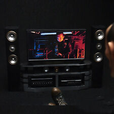 "1/6 Scale Furniture Home Theater TV Sound Terminator 2 For 12"" Action Figure Toy"