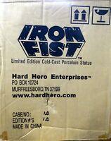 Iron Fist Green Version Statue #14 Factory Sealed New Hard Hero Marvel Comics
