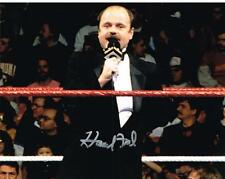 Wwe Wwf Howard Finkel Autograph Autographed Signed 8X10 Photo