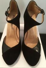REPETTO Black FRENCH Shoes. BRAND NEW! Cost $395! Suede & Leather! SIZE 41