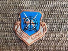 Air Force Military Surplus Desert Storm Iraq Camel Crossed Sword Target Patch GI