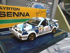 FORD Sierra Cosworth RS 500 Rallye Test 1986 #1 Senna Brooklyn Minichamps 1:43