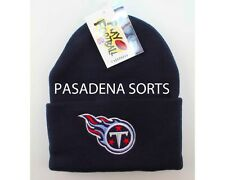"TENNESSEE TITANS VINTAGE ""LOGO ATHLETIC"" KNIT HAT CAP / BEANIE NWT"