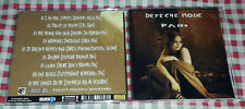 Depeche Mode - Pain CD RARE SPECIAL FAN EDITION with 9 Remixes