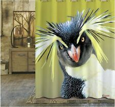 Rock hopper penguin shower curtain new free shipping