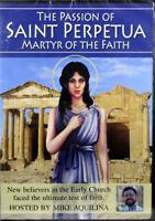 The Passion Of Saint Perpetua Martyr Of Faith NEW DVD Documentary Mike Aquilina