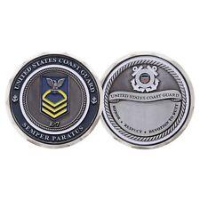 """USCG COAST GUARD E-7 CPO CHIEF PETTY OFFICER 1.75""""  CHALLENGE COIN"""