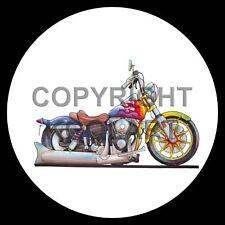 Koolart 4x4 4 x 4 ruota di scorta grafica Harley Davidson Low Rider Adesivo 1117
