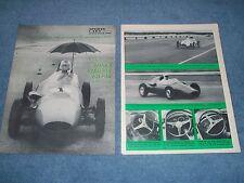 1960 Junior Formula One Race Car Info Article on Wainer Dagrada Volpini