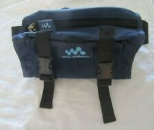 Vintage Sony Walkman Waist Bag Case Blue