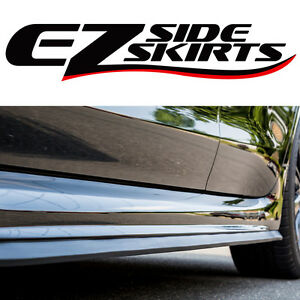 The Original EZ SIDE SKIRTS SPOILER LIP BODY KIT WING VALANCE ROCKER EASY EZLIP