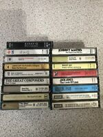 Large Collection Of MIXED CASSETTE TAPES Bundle Greatest Best Of Favourites