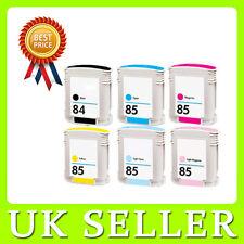 6 x 84-85 Non-OEM Ink Cartridges For DesignJet 130 130nr 130r 30 30n 90 90r