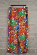 Lauren Ralph Lauren Tropical Floral Wide Leg Pants Women's Plus Size 2X