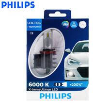 2X Philips 12834UNI H8/H11/H16 X-Treme FOG LED 6000K White Car Lamp, US Seller