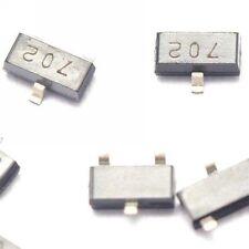 50PCS 2N7002 702 0.115A/60V SOT-23 N-Channel MOSFET SMD transistor