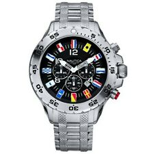 NAUTICA NST CHRONO FLAG A29512G Herrenuhr 48 mm