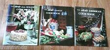 3 VINTAGE IDEALS Cookbooks : Ideals AMERICAN Ideals FAMILY Ideals ALL HOLIDAYS