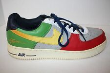 NIKE AF1 AIR FORCE 1 2008 LOW SPECIAL EDITION SIGNED CSM LSM SHOES RARE 9.5/43