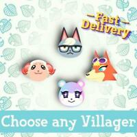 Choose Any Villager (raymond, judy, sherb etc.) for Animal Crossing New Horizons