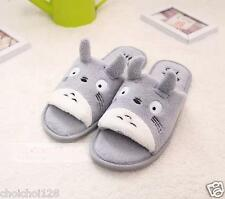My Neighbor Totoro Plush Slippers Grey Size UK4-6 MM90