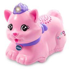 Vtech Tip Tap Baby Tiere - Katze Rosa Kätzchen Tier Lern-Spielzeug Musik Motorik