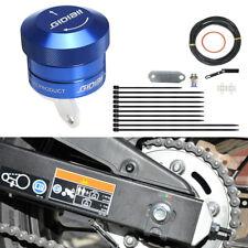 Automatischer Motorrad Kettenöler Motorcycle Chain Oiler Kit Blau Blue Universal