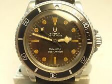 TUDOR/ROLEX VINTAGE Submariner Ref.7016/0;orig.early dial;orig.snow flake hands!