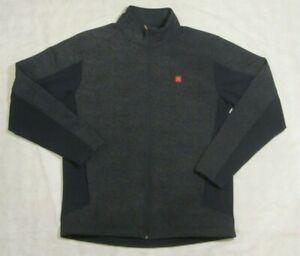 McDonald's Employee Jacket, Apparel Collection, Full Zip Mens Large Fleece lined