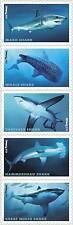 5223-27 (5227a) Sharks Strip Of 5 Forever Stamps Mint/nh Free Shipping