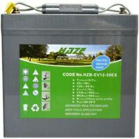 Haze 55AH Battery for Mobility Scooter, Wheelchair HZB-EV12-55EX  V
