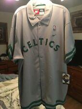 Boston Celtics Warm-Up Top XL NWT