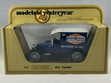 Matchbox Models of Yesteryear 1927 Talbot - Ever Ready Batteries Y-5 1:47