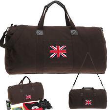 Tasche SPEAR DUFFLE BAG 60 Canvas Reisetasche Sporttasche Canvastasche UK BRAUN