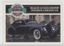 1991 #81 Delage D8 120 Coach Aerosport Letourneur & Marchand Non-Sports Card 0b6