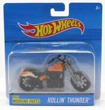 Hot Wheels Off Road Motorcycles Rollin' Thunder Orange 2015
