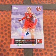 Topps Stars der Saison / Bundesliga - Jonathan Burkardt Auto /25 - 1. FSV Mainz