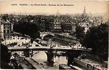 CPA Paris 6e Paris-Le Pont-Neuf, Ecluse de la Monnaie (312135)