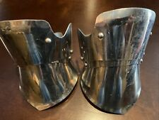 Medieval Knight Half Gauntlets Functional Armor Gloves Adult Sca Larp Stainless