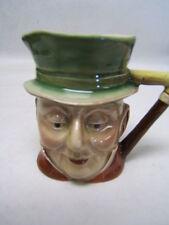"""Royal Doulton Toby Mug """"Mr Micawber"""" 3 1/2"""" tall #674 Beswick England GUC"""