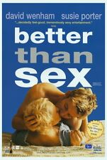 BETTER THAN SEX Movie POSTER 27x40 David Wenham Susie Porter Catherine