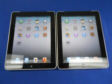 Lot 2 Apple iPad 2 2nd Generation  16GB Wi-Fi GOOD CONDITION Silver