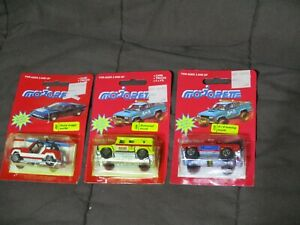 Lot of 3 Majorette Vehicle Nice 4X4 Towing Truck Dune Buggy Surfer Armored Truck