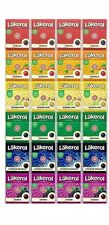 Lakerol Läkerol 4 Packs x 6 Flavours Sugar Free 24 g ( 0.85 oz ) Made in Sweden